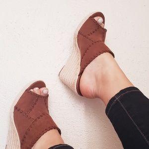 Espadrille sandals from Crown Vintage!